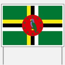 The Commonwealth of Dominica Yard Sign