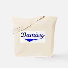 Damien Vintage (Blue) Tote Bag