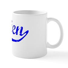 Damien Vintage (Blue) Mug