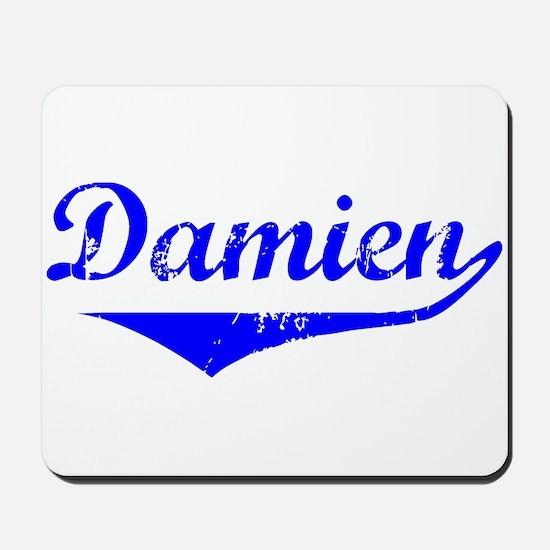 Damien Vintage (Blue) Mousepad