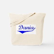 Dania Vintage (Blue) Tote Bag