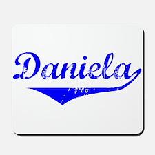 Daniela Vintage (Blue) Mousepad
