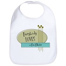 Everybody Loves a Coin Collector Bib