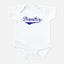 Danika Vintage (Blue) Infant Bodysuit