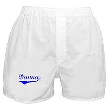 Danna Vintage (Blue) Boxer Shorts