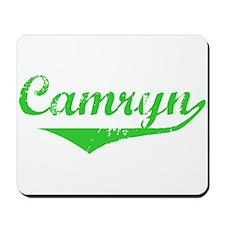 Camryn Vintage (Green) Mousepad