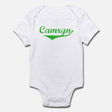 Camryn Vintage (Green) Infant Bodysuit
