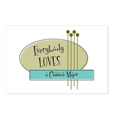 Everybody Loves a Classics Major Postcards (Packag