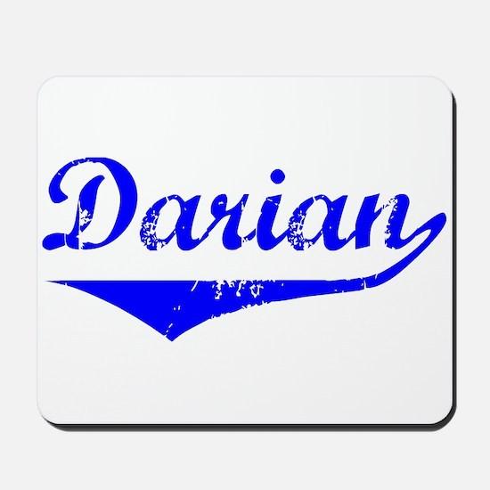 Darian Vintage (Blue) Mousepad