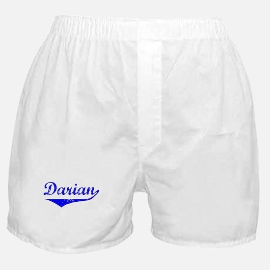 Darian Vintage (Blue) Boxer Shorts