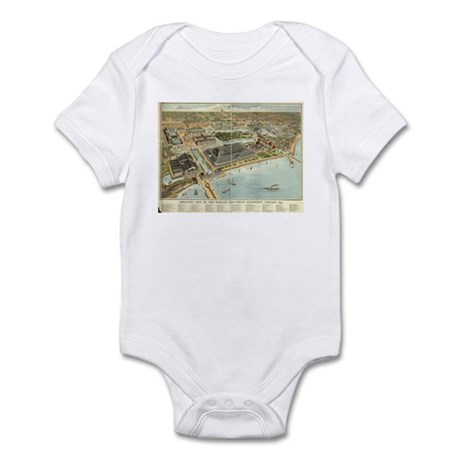 Chicago, 1893. Infant Bodysuit