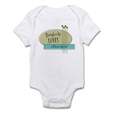 Everybody Loves a Claims Adjuster Infant Bodysuit
