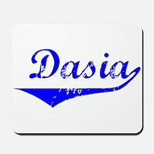 Dasia Vintage (Blue) Mousepad