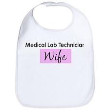 Medical Lab Technician Wife Bib