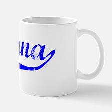 Dayana Vintage (Blue) Mug