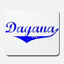 Dayana Vintage (Blue) Mousepad