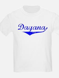 Dayana Vintage (Blue) T-Shirt