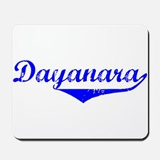 Dayanara Vintage (Blue) Mousepad