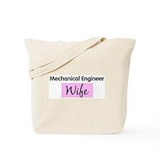 Mechanical Engineer Wife Tote Bag