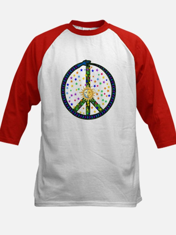 Solstice Peace Kids Baseball Jersey