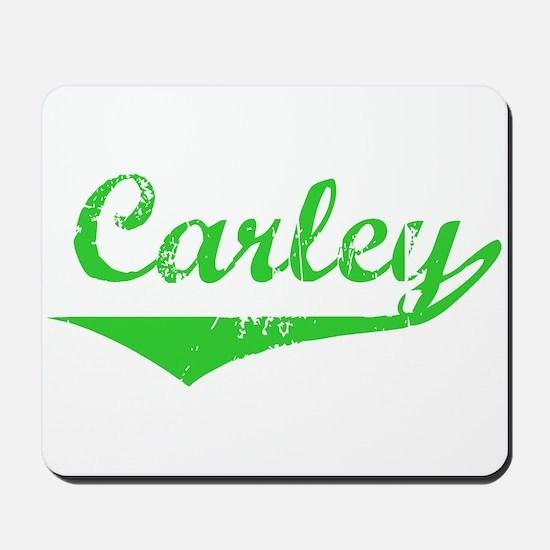 Carley Vintage (Green) Mousepad