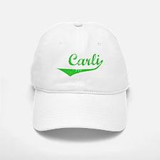 Carli Vintage (Green) Baseball Baseball Cap