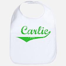 Carlie Vintage (Green) Bib