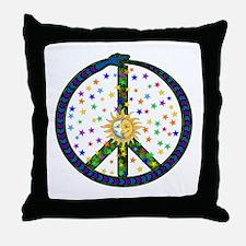 Solstice Peace Throw Pillow