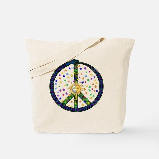 Solstice Peace Tote Bag