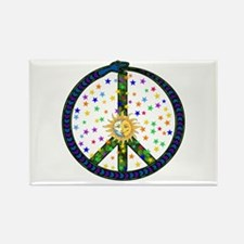 Solstice Peace Rectangle Magnet