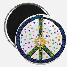 Solstice Peace Magnet