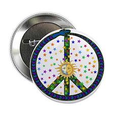 "Solstice Peace 2.25"" Button"