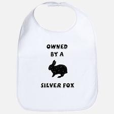 Owned by a Silver Fox Bib