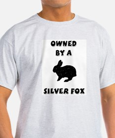 Owned by a Silver Fox Ash Grey T-Shirt