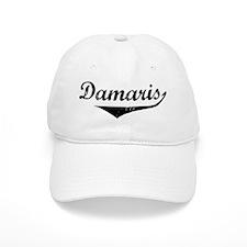 Damaris Vintage (Black) Baseball Cap