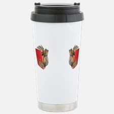 Cute Squirrel glasses Travel Mug