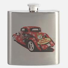 Christmas Hot Rod Flask