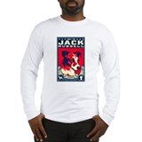 Kissed a dog jack russell Long Sleeve T-shirts