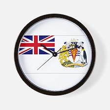 British Antarctic Territory Wall Clock