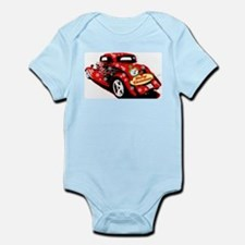 Christmas Hot Rod Body Suit
