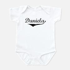 Daniela Vintage (Black) Infant Bodysuit