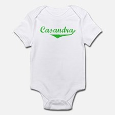 Casandra Vintage (Green) Infant Bodysuit