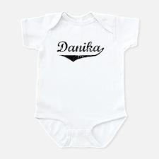 Danika Vintage (Black) Infant Bodysuit