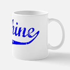 Delphine Vintage (Blue) Mug