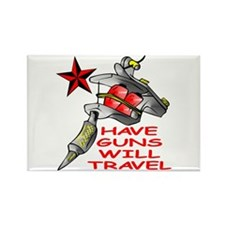 Have Guns Will Travel Rectangle Magnet