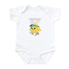 Runner Chick Infant Bodysuit