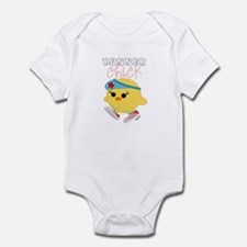 Runner Chick Infant Bodysuit