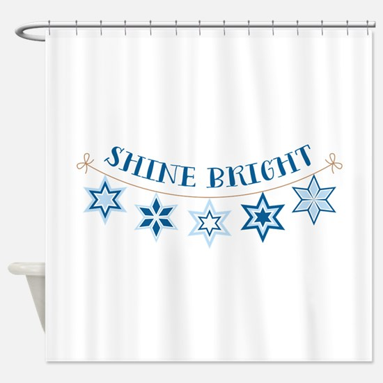 Shine Bright Shower Curtain