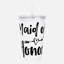 Maid of Honor Acrylic Double-wall Tumbler
