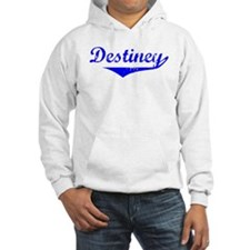 Destiney Vintage (Blue) Hoodie Sweatshirt